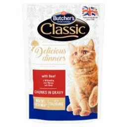 Classic Delicious Dinners Karma dla dorosłych kotów ...