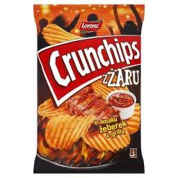 ZŻaru Chipsy ziemniaczane o smaku żeberek z grilla