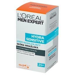 Men Expert Hydra Sensitive 25+ Krem nawilżający skóra wrażliwa