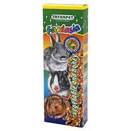 Kolba Fantasia dla gryzoni warzywna + miodowa 2 sztu...