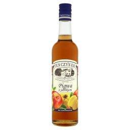 Syrop o smaku pigwa z jabłkiem