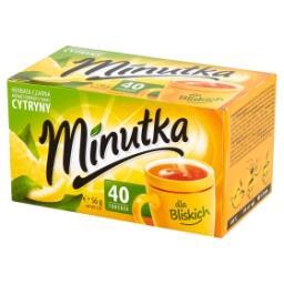 Herbata czarna aromatyzowana o smaku cytryny 56 g (4...