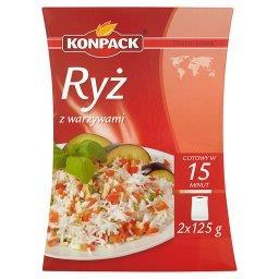 Ryż z warzywami 250 g (2 torebki)