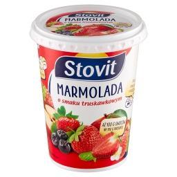 Marmolada o smaku truskawkowym 600 g