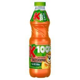 100% Sok jabłko marchew brzoskwinia