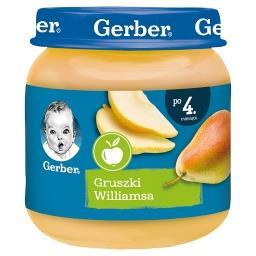 Gruszki Williamsa dla niemowląt po 4. miesiącu