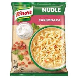 Nudle Carbonara Zupa-danie