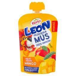 Leon Mus owocowy jabłko banan mango 100 ml