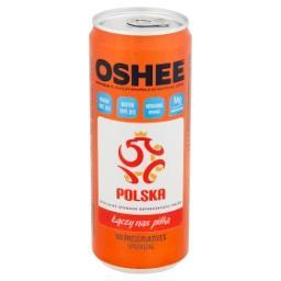 Napój izotoniczny gazowany o smaku pomarańczowym