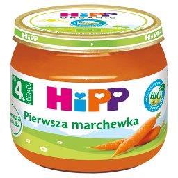 BIO Pierwsza marchewka po 4. miesiącu