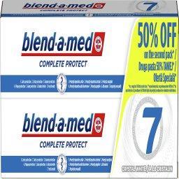 Complete Protect 7 Crystal White Pasta do zębów 2X10...
