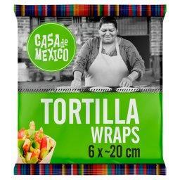 Tortilla wrap 20 cm  (6 sztuk)