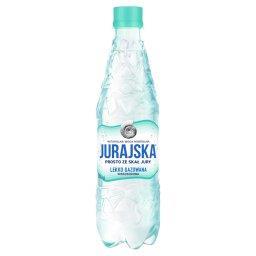 Naturalna woda mineralna lekko gazowana