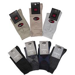 Skarpety męskie garniturowe CLASSIC 39-42 mix wzorów