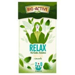 Relax Herbata zielona melisa z lawendą 30 g