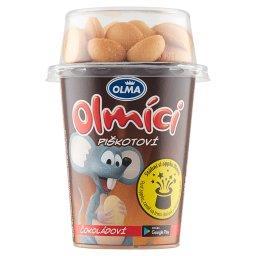 Olmici Jogurt o smaku czekoladowym z biszkoptami