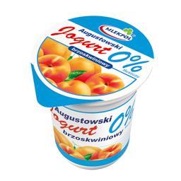Mlekpol  jogurt augustowski brzoskwiniowy 0 % 350 g