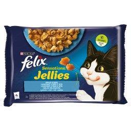 Sensations Jellies Karma dla kotów smaki rybne w galaretce 340 g (4 x )