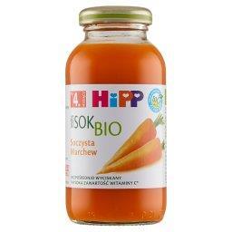 BIO Sok 100% soczysta marchew po 4. miesiącu