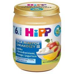 BIO Dla Małych Smakoszy Jabłka z brzoskwiniami mango i jogurtem po 6. miesiącu