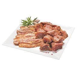 Mięso wieprzowe w przyprawach na szaszłyki