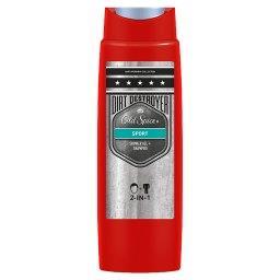 Sport Żel pod prysznic i szampon dla mężczyzn 250ml