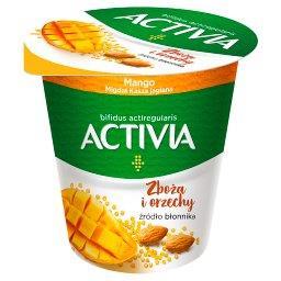 Activia Jogurt mango migdał kasza jaglana