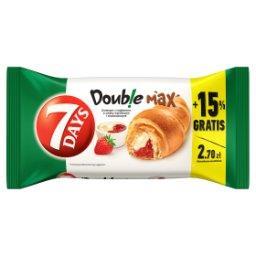 Doub!e Max Croissant z nadzieniem o smaku waniliowym...