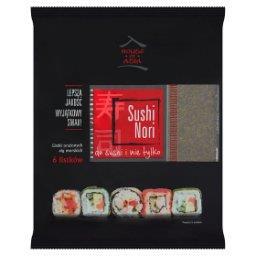 Sushi Nori Liście alg morskich 6 sztuk