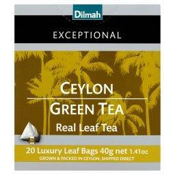 Exceptional Zielona cejlońska herbata 40 g (20 toreb...