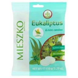 Eukaliptus Karmelki twarde z olejkiem eukaliptusowym...