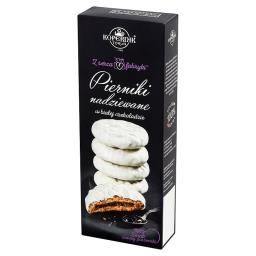 Z serca fabryki Pierniki nadziewane w białej czekola...