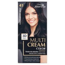 Multi Cream Color Farba do włosów czekoladowy brąz 4...