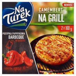 Camembert na grill z posypką paprykową barbeque