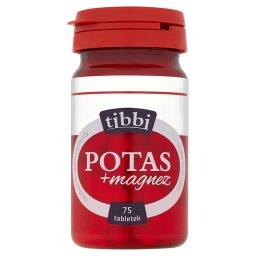 Potas + magnez Suplement diety  (75 tabletek)