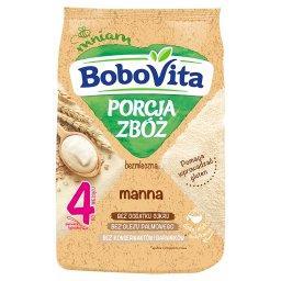 BoboVita Porcja Zbóż Kaszka bezmleczna manna po 4 mi...