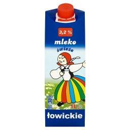 Mleko świeże łowickie 3,2% 1 l