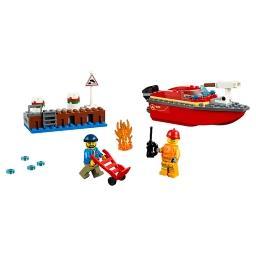 City Fire Pożar w dokach 60213