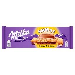 Mmmax Herbatnik w czekoladzie mlecznej Choco & Biscu...