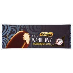 Lody smak waniliowy w czekoladzie mlecznej