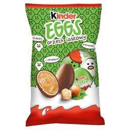 Eggs Chrupiący wafelek pokryty mleczną czekoladą z mleczno-orzechowym nadzieniem