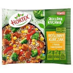 Zielona kuchnia Roślinny kurczak z kaszą i warzywami...