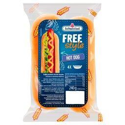 Free Style Bułki pszenne do hot dogów 240 g (4 x )