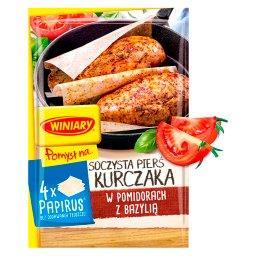 Pomysł na... Soczysta pierś kurczaka w pomidorach z ...