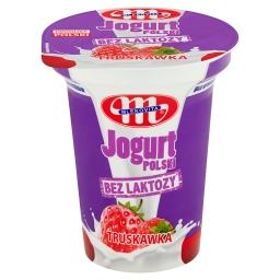 Jogurt Polski bez laktozy truskawka