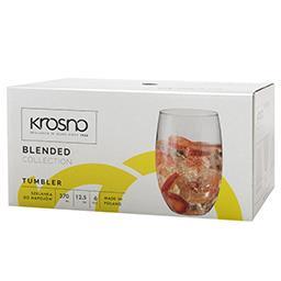 Szklanki do napojów Blended 370ml kpl. 6 sztuk