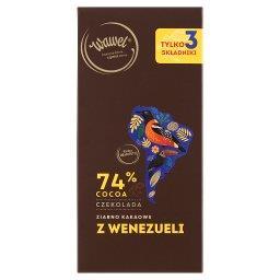 Czekolada 74% cocoa ziarno kakaowe z Wenezueli