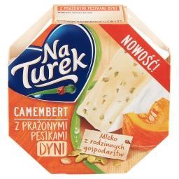 Camembert z prażonymi pestkami dyni