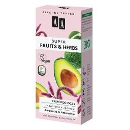 Super Fruits&Herbs krem pod oczy nawilżenie + jędrno...