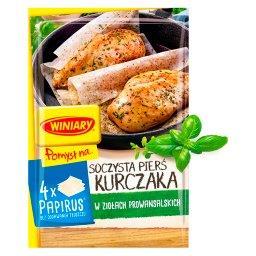 Pomysł na... Soczysta pierś z kurczaka w ziołach pro...